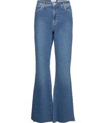albert flare wash st. louis jeans utsvängda blå tomorrow