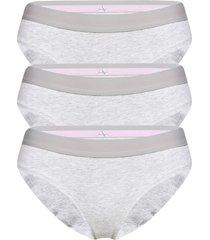 organic cotton bikini 3 pack trosa brief tanga vit danish endurance