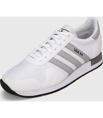 tenis lifestyle blanco-gris adidas originals usa 84