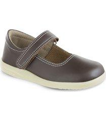 zapatos escolares mafalda café para mujer croydon