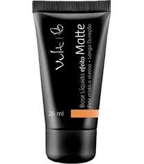 base marrom 01 vult matte pele mista a oleosa make up