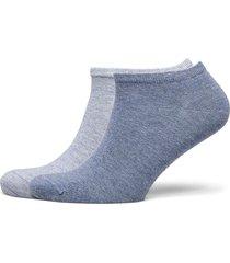 th women sneaker 3p promo footies träningssockor/ankle socks blå tommy hilfiger
