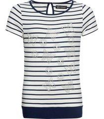 maglia con perle e strass (bianco) - bodyflirt