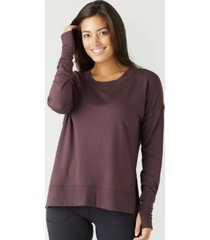 glyder soft lounge long sleeve sweatshirt