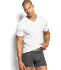 2(x)ist men's essential 3 pack jersey v-neck t-shirt