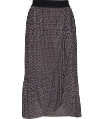 ease neel skirt knälång kjol svart bruuns bazaar