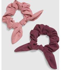 lane bryant women's hair bow scrunchies 2-pack onesz mesa rose