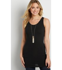 maurices womens basic tunic tank top