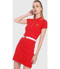 vestido rojo-amarillo-blanco us polo assn