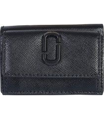 marc jacobs designer wallets, mini snapshot trifold wallet