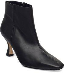 aurora shoes boots ankle boots ankle boot - heel svart jennie-ellen