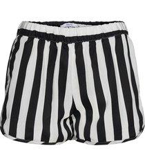 shorts sandvika big stripes shorts flowy shorts/casual shorts vit dedicated