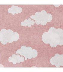 cobertor 0,90x1,10m alvinha ref.5940 / 5941 - minasrey-rosa - rosa - dafiti