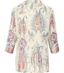 blouse met 3/4-mouwen van peter hahn multicolour