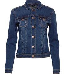 sc-andora jeansjack denimjack blauw soyaconcept
