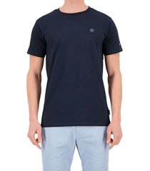 airforce embroidery outline t-shirt dark navy blue