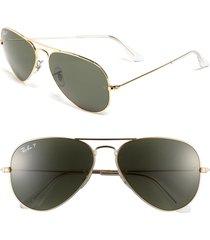 ray-ban original 58mm aviator sunglasses -