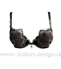 ambra lingerie bh's grand arche oil-push bh bruin 0326