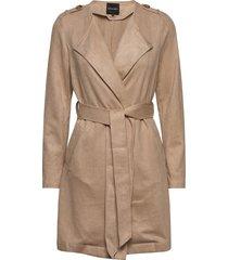 ava suede jacket trench coat rock beige rut & circle
