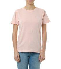 acne studios wanda pink cotton t-shirt