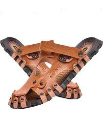 sandalias suaves antideslizantes de doble uso para hombres sandalias cómodas para hombres zapatos de verano