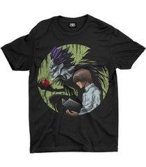 camiseta anime death note - unissex