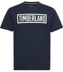 3dt t-shirts short-sleeved blå timberland