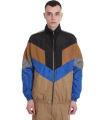 maison flaneur casual jacket in multicolor polyester
