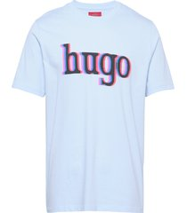 dontrol t-shirts short-sleeved blå hugo