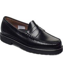 gh weejun 90 larson penny loafers låga skor svart g.h. bass