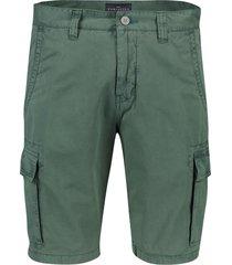 portofino shorts cargo flatfront groen