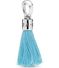 charm pendente tassel azul