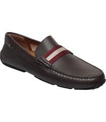 pearce loafers låga skor brun bally