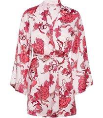 kimono satin zinnia kimonos rosa hunkemöller