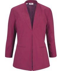 blazer in tessuto elasticizzato (fucsia) - bpc bonprix collection