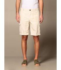 eleventy short eleventy bermuda in cotton and linen