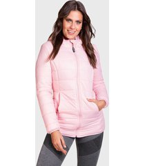 parka everlast final rosa - calce regular