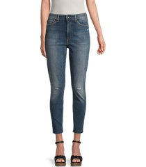rag & bone women's nina ankle-length jeans - evergreen - size 30 (8-10)