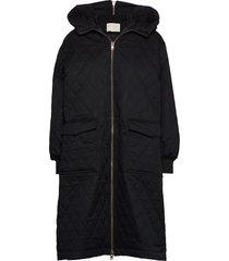 mckenzie coat kviltad jacka svart notes du nord