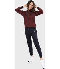 sudadera para mujer chaqueta hoodie vinotinto y azul