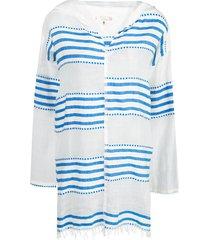lemlem eshe beach dress - blue