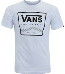 camiseta vans graphic off the wall - masculina - branco