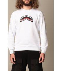 sprayground sweatshirt sprayground sweatshirt with shark print
