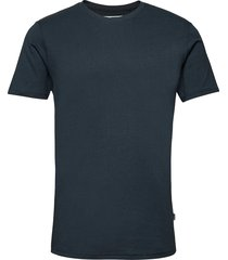 sddew ss long organic t-shirts short-sleeved blå solid