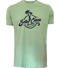 camiseta 775 palm vintage - limão - kanui