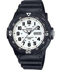reloj casio analogo mrw-200h-7b negro