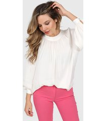 blusa natural asterisco basilea