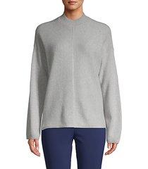 mockneck cashmere sweater