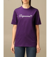 dsquared2 t-shirt dsquared2 cotton t-shirt with logo
