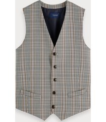 scotch & soda gilet met patroon